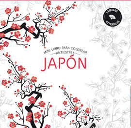 JAPON -MINI LIBRO COLOREAR ANTIESTRES