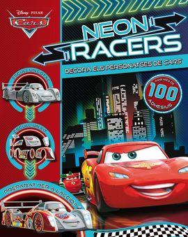 CARS NEON RACERS. DECORA ELS PERSONATGES.