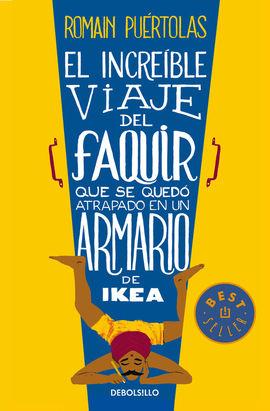 INCREIBLE VIAJE DEL FAQUIR QUE SE QUEDO ATRAPADO EN UN ARMARIO DE IKEA, EL [BOLSILLO]