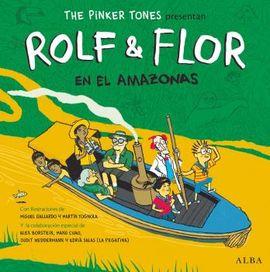 ROLF & FLOR EN EL AMAZONAS [CON CD]