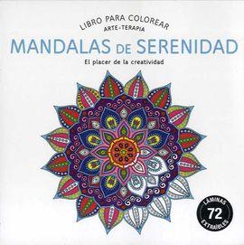 MANDALAS DE SERENIDAD, LIBRO PARA COLOREAR