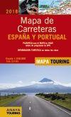 2018 MAPA DE CARRETERAS DE ESPAÑA Y PORTUGAL 1:340.000 -ANAYA