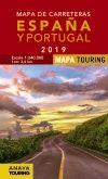 2019 MAPA DE CARRETERAS DE ESPAÑA Y PORTUGAL [ESPIRAL] -ANAYA