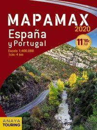2020 MAPAMAX ESPAÑA Y PORTUGAL 1:400.000 -ANAYA