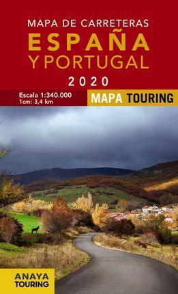 2020 MAPA DE CARRETERAS DE ESPAÑA Y PORTUGAL 1:340.000 [ESPIRAL] -ANAYA