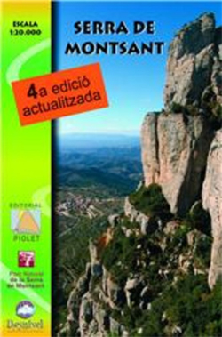 SERRA DE MONTSANT 1:20.000 -PIOLET
