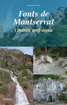 FONTS DE MONTSERRAT I INDRETS AMB AIGUA
