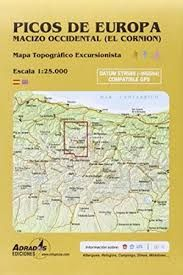 P6 CORNION, EL 1:25.000- MACIZO OCCIDENTAL PICOS EUROPA