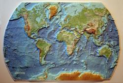 MAPA DEL RELIEVE TERRESTRE [RELLEU] 1:69.300.000