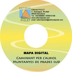 CAMINANT PER L'ALBIOL 1:15.000 [CD-ROM] CARTOGRAFIA DIGITAL GPS -PIOLET