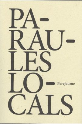 PARAULES LOCALS