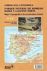 P7 PARQUE NATURAL DE SOMIEDO BABIA Y LACIANA NORTE MAPAS 1:50.000 Y 1:25.000