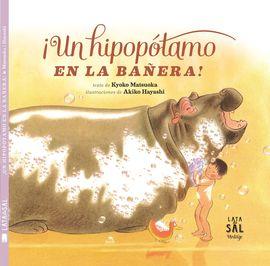 UN HIPOPOTAMO EN LA BA�ERA!