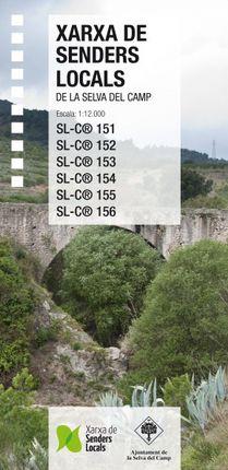 XARXA SENDERS LOCALS DE LA SELVA DEL CAMP 1:12.000 -PIOLET