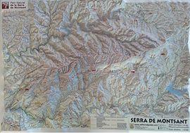 SERRA DE MONTSANT [RELLEU] 1: 42.500 -PIOLET