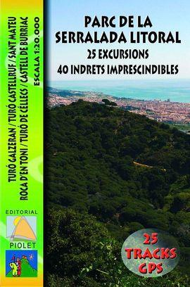 PARC DE LA SERRALADA LITORAL 1:20.000 -PIOLET