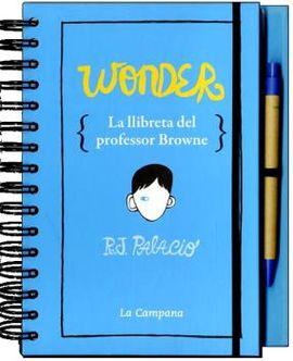 WONDER. LLIBRETA DEL PROFESSOR BROWNE