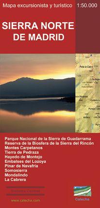 SIERRA NORTE DE MADRID 1:50.000 -CALECHA