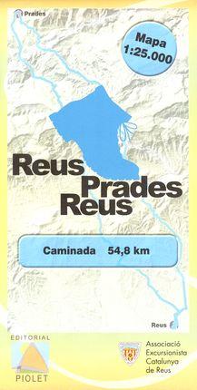REUS-PRADES-REUS 1:25.000 -PIOLET