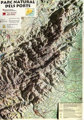 PARC NATURAL DELS PORTS [RELLEU] 1:90.000- PIOLET