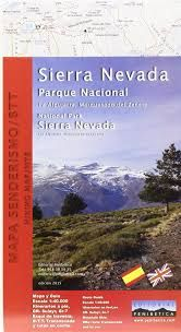 SIERRA NEVADA NATIONAL PARK [1:40.000] -PENIBÉTICA