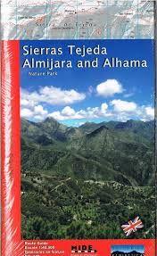 SIERRAS TEJEDA, ALMIJARA AND ALHAMA (ENG) 1:40.000 -PENIBETICA