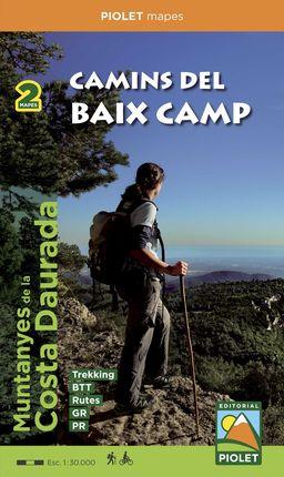 CAMINS DEL BAIX CAMP [2 MAPES] 1:30.000- PIOLET
