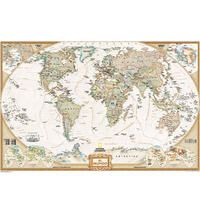622085 S ESP WORLD EXECUTIVE PETIT [CAS] [MURAL] 1:39.393.000 MUNDO -NATIONAL GEOGRAPHIC