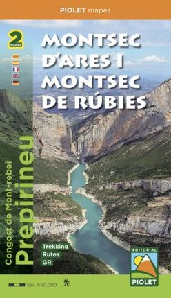 MONTSEC D'ARES I MONTSEC DE RUBIES 1:20.000 - PIOLET