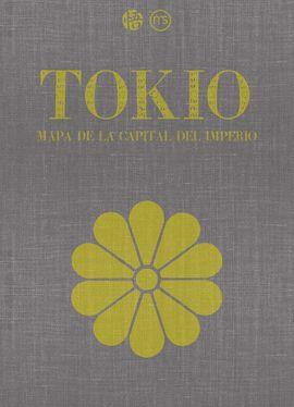 TOKIO. MAPA DE LA CAPITAL DEL IMPERIO [MAPA]
