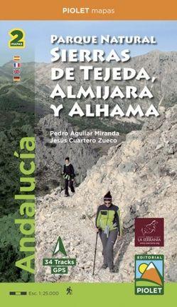 P. N. SIERRAS DE TEJEDA, ALMIJARA Y ALHAMA 1:25.00 -PIOLET