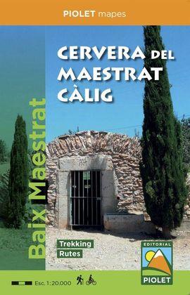 CERVERA DEL MAESTRAT-CÀLIG 1:20.000 -PIOLET