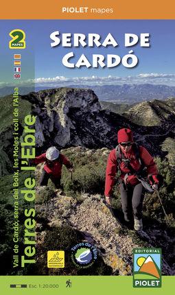SERRA DE CARDÓ [2 MAPES] (CAT-CAS-FRA-ENG) -PIOLET