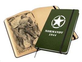 NORMANDY 1944. NOTEBOOK. LIBRETA ILUSTRADA