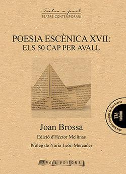 POESIA ESCENICA XVII: ELS 50 CAP PER AVALL