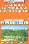 14 GRANADA, LA ALPUJARRA, COSTA TROPICAL 1:150.000 -GEO ESTEL
