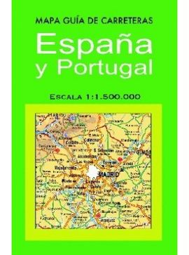 ESPAÑA Y PORTUGAL MAPA GUIA DE CARRETERAS