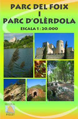 PARC DEL FOIX I PARC D'OLÈRDOLA 1:20.000 -PIOLET