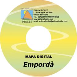 BAIX EMPORDA 1:30.000 [CD-ROM] CARTOGRAFIA DIGITAL GPS -PIOLET