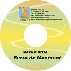 SERRA DE MONTSANT 1:20.000 [CD-ROM] CARTOGRAFIA DIGITAL GPS -PIOLET