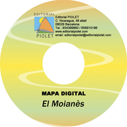 MOIANES, EL 1:30.000 [CD-ROM] CARTOGRAFIA DIGITAL GPS -PIOLET