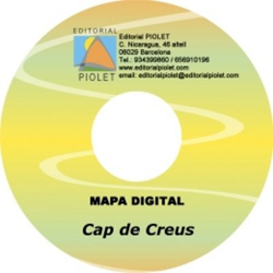 CAP DE CREUS [CD-ROM] 1:20.000 PARC NATURAL DE -CARTOGRAFIA DIGITAL GPS -PIOLET