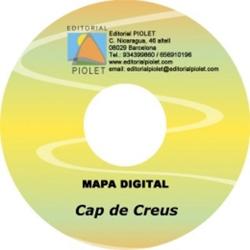 CAP DE CREUS [CD-ROM] 1:20.000 PARC NATURAL DE -CARTOGRAFIA DIGITAL GPS -PIOLET