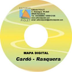 CARDO - RASQUERA [CD-ROM] 1:10.000 -1:25.000 -CARTOGRAFIA DIGITAL GPS -PIOLET