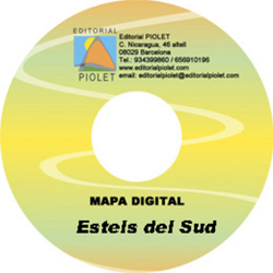 ESTELS DEL SUD 1:25.000 [CD-ROM] CARTOGRAFIA DIGITAL GPS -PIOLET