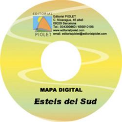 ESTELS DEL SUD 1:25.000 [CD-ROM] CARTOGRAFIA DIGITAL GPS -PIOLET