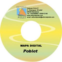 POBLET 1:15.000 [CD-ROM] CARTOGRAFIA DIGITAL GPS -PIOLET