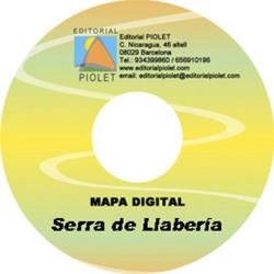 SERRA DE LLABERIA 1:20.000 [CD-ROM] CARTOGRAFIA DIGITAL GPS -PIOLET