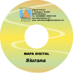 SIURANA 1:10.000 [CD-ROM] CARTOGRAFIA DIGITAL GPS -PIOLET