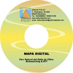 DELTA DE L'EBRE [CD-ROM] PARC NATURAL DEL -CARTOGRAFIA DIGITAL GPS -PIOLET